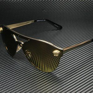 Versace Gold Brown Women's Sunglasses! NEW!